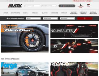 mtk-auto.fr screenshot