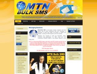 mtnbulksms.com screenshot