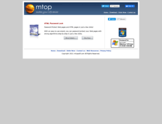mtopsoft.com screenshot