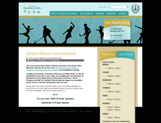 mtpleasanticearena.com screenshot