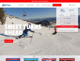 mtrose.com screenshot