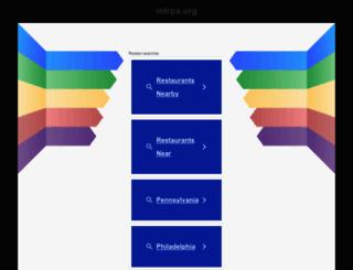 mtrpa.org screenshot