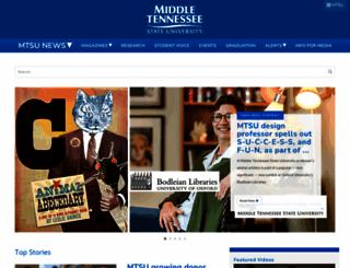 mtsunews.com screenshot