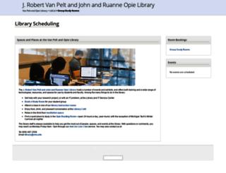 mtu.libcal.com screenshot