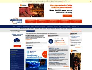mtu.ubezpieczenie.com.pl screenshot