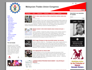 mtuc.org.my screenshot