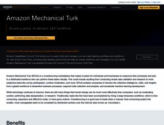 mturk.com screenshot