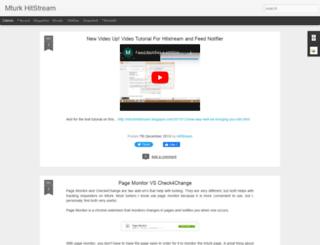 mturkhitstream.blogspot.com screenshot