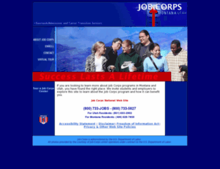 mtutoa.jobcorps.gov screenshot
