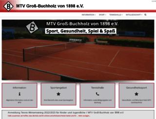 mtv-gross-buchholz.de screenshot