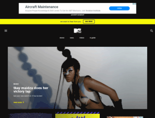 mtv.co.nz screenshot