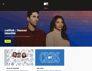 mtv.fr screenshot