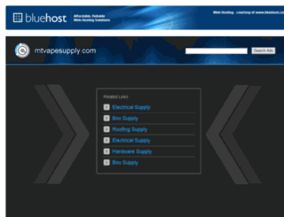 mtvapesupply.com screenshot
