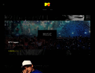 mtvjapan.com screenshot