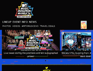 mtvmusicevo.com screenshot