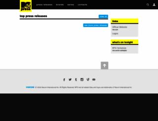 mtvpress.com screenshot
