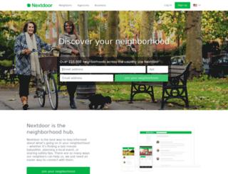 mtwashingtoneast.nextdoor.com screenshot
