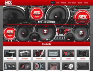 mtxaudio.eu screenshot