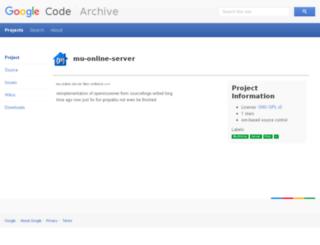 mu-online-server.googlecode.com screenshot