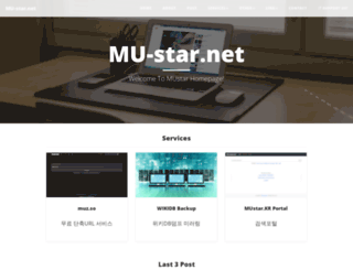 mu-star.net screenshot