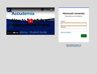 mu.accudemia.net screenshot