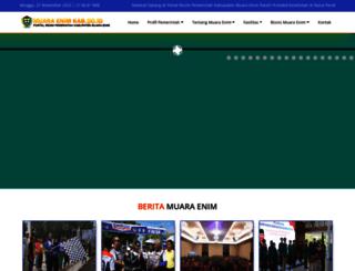 muaraenimkab.go.id screenshot