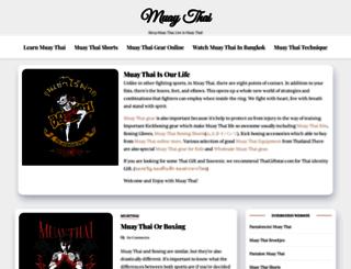 muaythailive.com screenshot