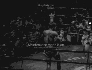 muaythaitv.com screenshot