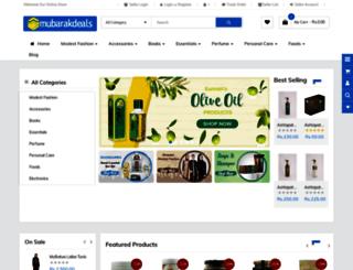mubarakdeals.com screenshot