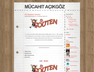 mucahitj.blogspot.com.tr screenshot