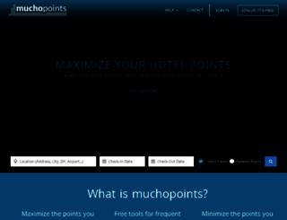 muchopoints.com screenshot