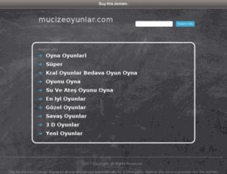 mucizeoyunlar.com screenshot