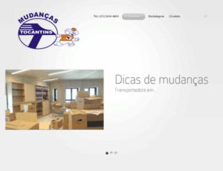 mudancastocantins.com.br screenshot