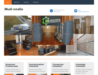 mudanzalia.com screenshot