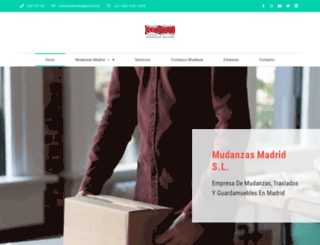 mudanzasmadridsl.com screenshot