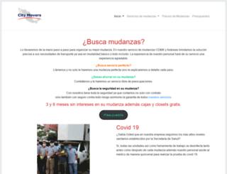 mudanzasmexico.com.mx screenshot