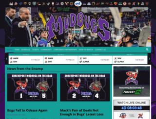 mudbugshockey.com screenshot