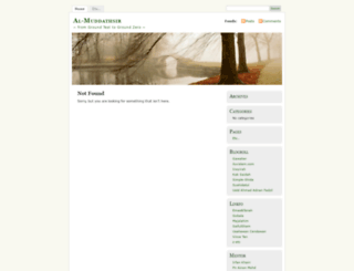muddathsir.wordpress.com screenshot