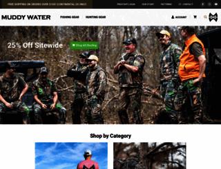 muddywatercamo.com screenshot
