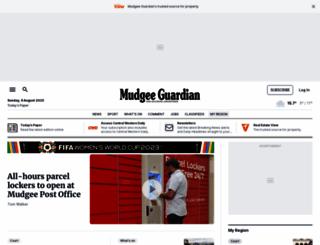 mudgeeguardian.com.au screenshot