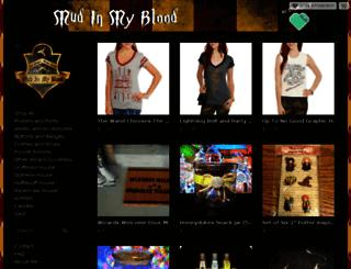mudinmyblood.storenvy.com screenshot