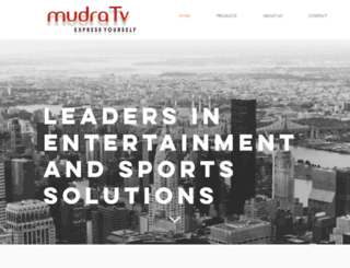 mudra.tv screenshot