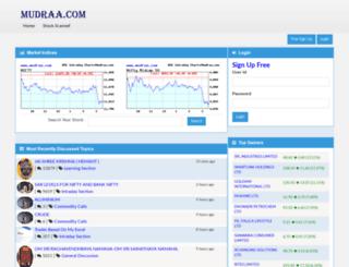 mudraa.com screenshot