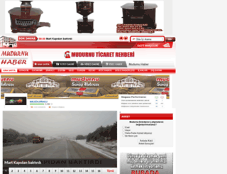 mudurnuhaber.com screenshot