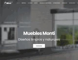 mueblesmonti.es screenshot