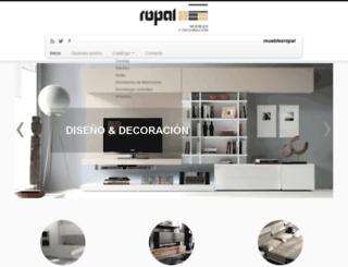 mueblesropal.com screenshot