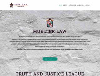 muellerlaw.com screenshot