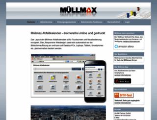 muellmax.de screenshot