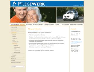 muenchen-pflegedienst-mit-herz.de screenshot