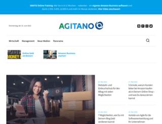 muenchen.agitano.com screenshot